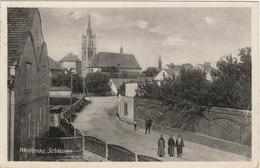 WEIDENAU ( VIDNAVA)  -   EINE SICHT Nach Der KIRCHE   -   Verlag : Hermann ENDER Aus Weidenau - Sudeten