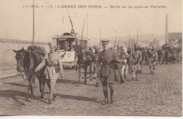 13 MARSEILLE  L'Armée Des Indes  Défilé Sur Les Quais De Marseille - Marseille