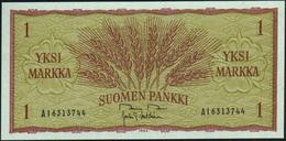 FINLAND - 1 Markka 1963 {sign. Rossi Voutilainen} UNC P.98 - Finlandia