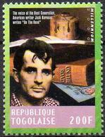 "TOGO - 1v - MNH** - Jack Kerouac American Writer ""On The Road"" America United States Literature Literatur Literatura - Ecrivains"