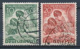 Berlin Nr. 80-81 Gestempelt (Michel 70,-- €) - [5] Berlín