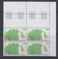 TAAF 1988 Plants 1v  Bl Of 4 (corner) ** Mnh (TA225A) - Ongebruikt