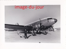 Photo Ancienne  AVIATION AVION A IDENTIFIER MILITAIRE - Aviation