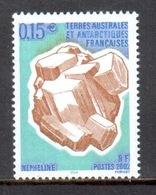 TAAF - 2002 - Minéraux : Népheline ** - Terres Australes Et Antarctiques Françaises (TAAF)