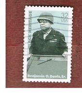 STATI UNITI (U.S.A.) - SG 3272  - 1997 BLACK HERITAGE: GEN. B.O. DAVIS - USED - Used Stamps