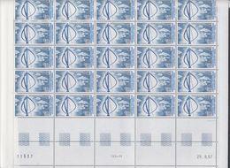 TAAF 1988 Darrieus 1v  Complete Sheetlet With Full Margins ** Mnh (TA226) - Ongebruikt