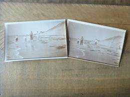 33 ARCACHON DUNE DU PYLA 1931 - 2 PHOTOS ORIGINALES - Arcachon