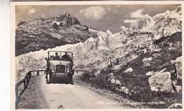 FURKASTRAPE U. RHONEGLETSCHER MIT POST AUTO. WEHRLIVERLAG, KILCHBERG. CIRCA 1910s SUISSE - BLEUP - GE Genève