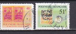 Polynésie Timbres De Service Vi Tahiti Avocat N°22-26 Oblitéré - Service
