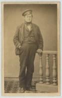 CDV 1860-70 Thiéry . Homme à La Casquette . Postes ? - Photos