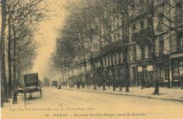 75 // PARIS   XIX EME   Avenue Victor Hugo, Vers La Muette  16  **, Colorisée, Toilée / EDIT Vve Gueret - Arrondissement: 19