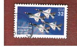 STATI UNITI (U.S.A.) - SG 3362  - 1997 U.S.A.F.: THUNDERBIRDS IN FORMATION   - USED - Used Stamps