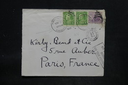 HAWAÏ - Enveloppe De L 'Agence Consulaire De France à Honolulu Pour La France En 1935 - L 25726 - Hawaii