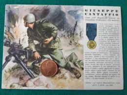 FASCISMO Medaglie D'oro Giuseppe Cantaffio - Guerra 1939-45