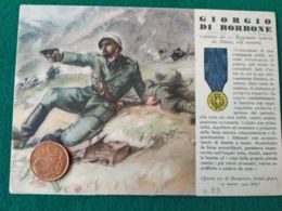 FASCISMO Medaglie D'oro Giorgio Di Borrone - Guerra 1939-45