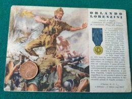 FASCISMO Medaglie D'oro Orlando Lorenzini - Guerra 1939-45