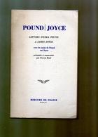E01  - 1970 - Lettre D'ezra Pound A James Joyce - Mercure De France - Culture