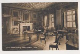 AK25 Gilt Or Green Drawing Room, Warwick Castle - Warwick