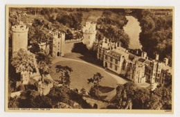 AK25 Warwick Castle From The Air - Warwick