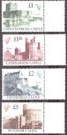 GB - 1988 - N° 1340 à 1343 - Neufs ** - Châteaux Britanniques - 1952-.... (Elizabeth II)