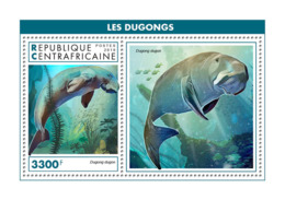 Central Africa 2018  Fauna  Dugongs S201902 - Central African Republic
