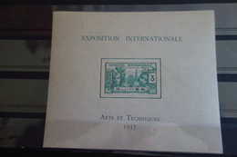 Bloc De 1937**MNH - Guinée Française (1892-1944)