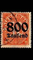 GERMANY REICH Dienst [1923] MiNr 0095 X ( O/used ) - Dienstpost