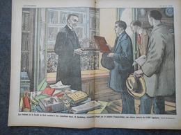 A4 / COUPURE /  LES ETUDIANTS DE LA FACULTE DE DROIT REMETTENT A LEUR DOYEN M BERTHELEMY UNE ADRESSE - Documents Historiques