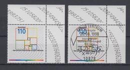Bund 2005 Eckrand Rechts Oben Mathematikerkongreß Berlin 110 Pf ** + ESST Berlin - BRD