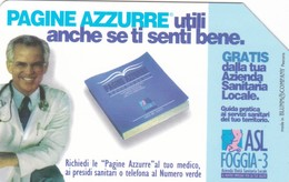 SCHEDA TELEFONICA  PAGINE AZZURRE  SCADENZA 31/12/1998 USATA - Italia