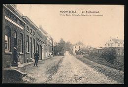 MOORTZELE   DE STATIESTRAAT - Oosterzele