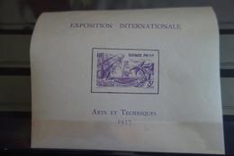Bloc De 1937*MH - Guyane Française (1886-1949)