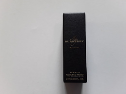 BURBERRY   ~~~ MY BURBERRY  BLACK   Tubes  2 ML ! - Cartes Parfumées
