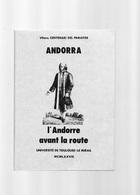 E01  - 31 Exposition 1978 Toulouse Mirail ANDORRA L'andorre Avant La Route - Midi-Pyrénées
