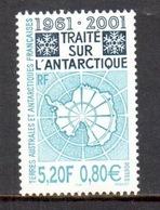 TAAF - 2001 - 40e Ann Traité Sur L'Antarctique ** - Terres Australes Et Antarctiques Françaises (TAAF)