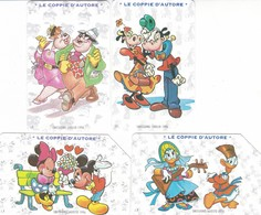 SCHEDA TELEFONICA  WALT DISNEY LE COPPIE D' AUTORE  SCADENZA 31/12/1998 USATA - Italia