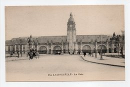 - CPA LA ROCHELLE (17) - La Gare - Edition Nozais 152 - - La Rochelle