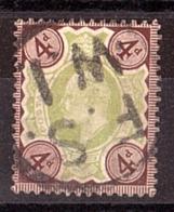 GB - 1902/10 - N° 112 - Edouard VII - Gebruikt