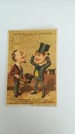 CHROMO DOREE APRES 1889 - MAISON DE LA BELLE JARDINIERE - HUMOUR - HABILLEMENT SUR MESURE - Autres