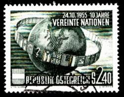 Autriche 1955 Mi.Nr: 1022 Vereinte Nationen  Oblitèré / Used / Gebruikt - 1945-.... 2de Republiek