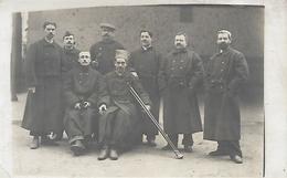 BLESSES à L'HÔPITAL Dont SPAHIS - Guerre 1914-18 - Carte-photo  - WW1 - A Voir ! - Guerre 1914-18