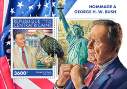 Central Africa 2018    George W. Bush , Bald Eagle S201902 - Central African Republic