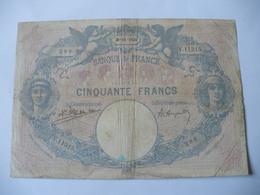 BILLET 50 F BLEU ET ROSE  26/11/1924 FAY 14/37 - 1871-1952 Antichi Franchi Circolanti Nel XX Secolo