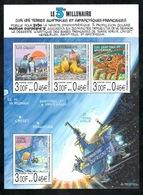 TAAF - 2000 - BF Le 3e Millénaire Sur Les TAAF - Dessins De JC Mézières ** - Terres Australes Et Antarctiques Françaises (TAAF)