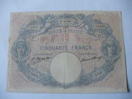 BILLET 50 F BLEU ET ROSE  30/12/1926 FAY 14/39 - 50 F 1889-1927 ''Bleu Et Rose''