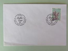 """Italia, 60 Anni Della Resistenza 1943-2003, Ravenna Annullo Speciale """"Bella Ciao"""" 14/9/2003 - WW2"""