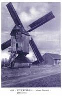 Stokkem: Molen Stassen ( 2 Scans) - Belgique