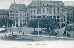 CPSM - GENEVE - PLACE BEL-AIR (ETAT PARFAIT) - GE Genève