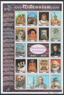 M091 PALAU MILLENNIUM 1000-2000 19TH CENTURY 1800-1900 1SH MNH - Storia