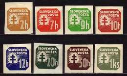 Slowakei / Slovakia, 1939, Mi  54; 56-65 X * [240319XXIV] - Slowakije